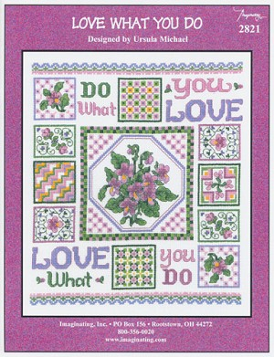 Love What You Do - (Cross Stitch)