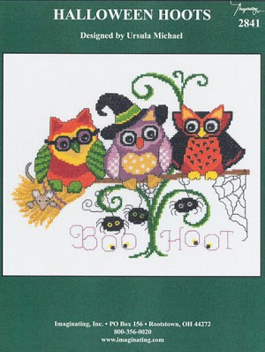 Halloween Hoots - (Cross Stitch)