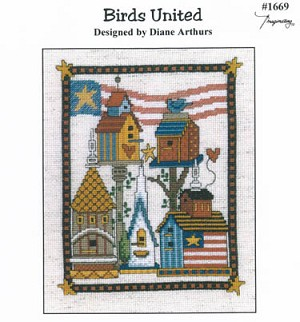 Birds United - (Cross Stitch)