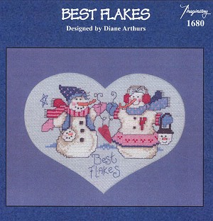Best Flakes - (Cross Stitch)