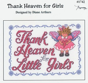 Thank Heaven for Girls - (Cross Stitch)