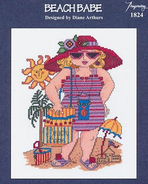Beach Babe - (Cross Stitch)