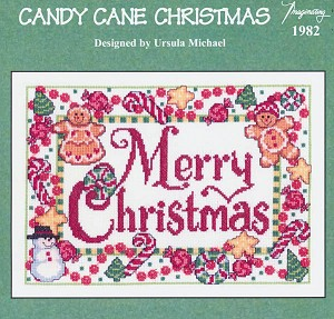 Candy Cane Christmas - (Cross Stitch)