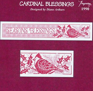 Cardinal Blessings - (Cross Stitch)