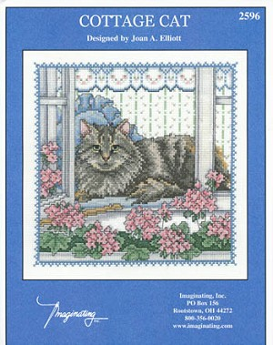 Cottage Cat - (Cross Stitch)