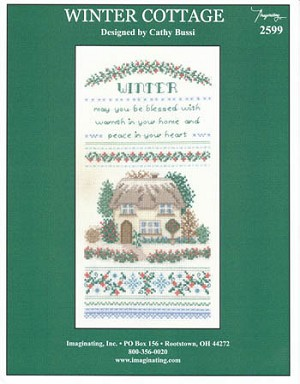 Winter Cottage - (Cross Stitch)