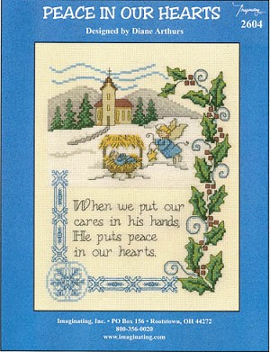 Peace in Our Hearts - (Cross Stitch)