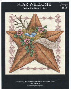 Star Welcome - (Cross Stitch)