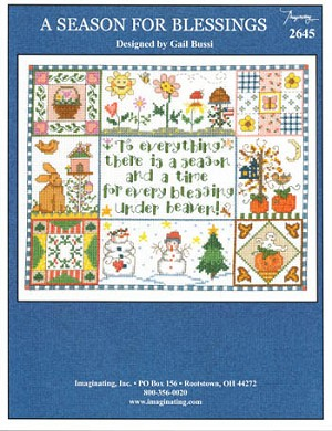 A Season for Blessings - (Cross Stitch)