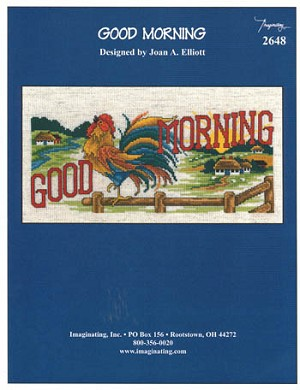Good Morning - (Cross Stitch)
