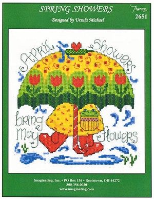 Spring Showers - (Cross Stitch)
