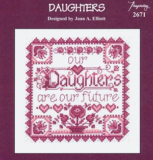 Daughters - (Cross Stitch)