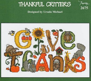 Thankful Critters - (Cross Stitch)