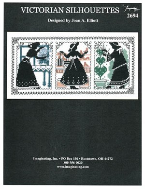 Victorian Silhouettes - (Cross Stitch)