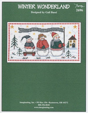 Winter Wonderland - (Cross Stitch)
