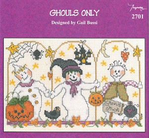 Ghouls Only - (Cross Stitch)