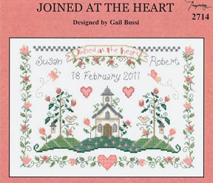 Joined at the Heart - (Cross Stitch)