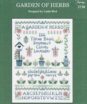 Garden of Herbs - (Cross Stitch)