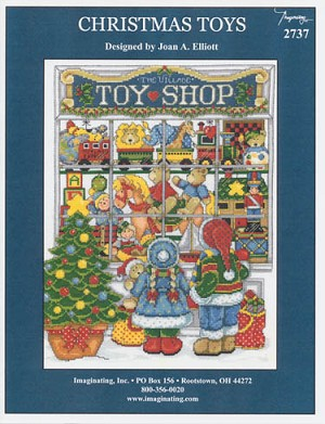 Christmas Toys - (Cross Stitch)