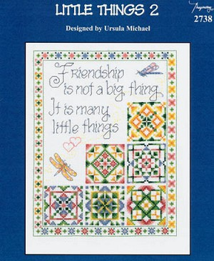 Little Things 2 - (Cross Stitch)