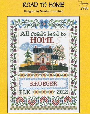 Road to Home - (Cross Stitch)