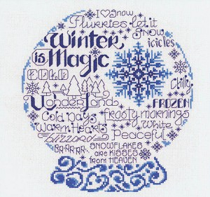 Let's Be Frozen - (Cross Stitch)