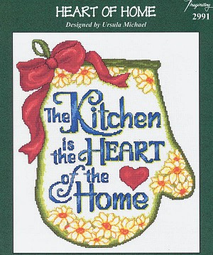 Heart of Home - (Cross Stitch)