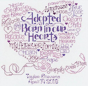 Let's Adopt - (Cross Stitch)