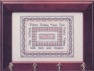 For Father - (Cross Stitch)