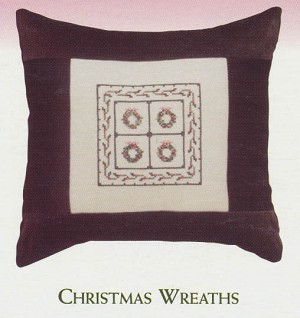 Christmas Wreaths - (Cross Stitch)