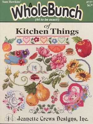 A Whole Bunch of Kitchen Things - (Cross Stitch)