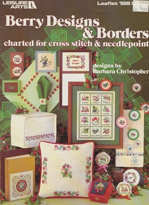 Berry Designs and Borders - (Cross Stitch)