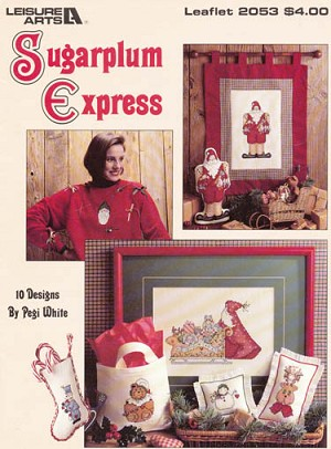 Sugarplum Express - (Cross Stitch)
