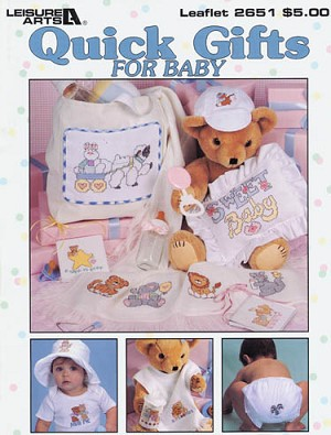 Quick Gifts for Baby - (Cross Stitch)