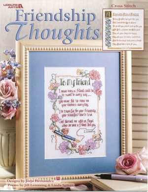Friendship Thoughts - (Cross Stitch)
