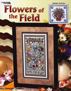 Flowers of the Field - (Cross Stitch)