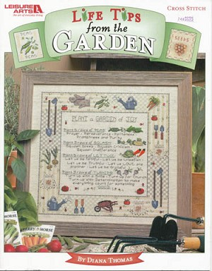 Life Tips from the Garden - (Cross Stitch)