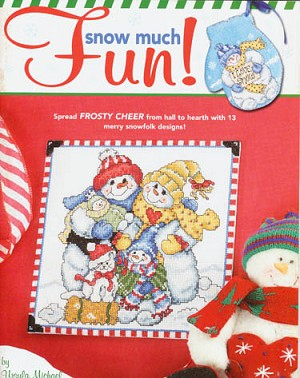Snow Much Fun - (Cross Stitch)
