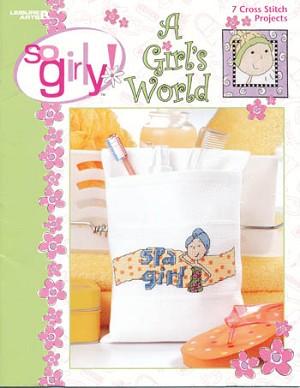 A Girl's World - (Cross Stitch)