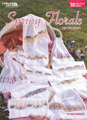 Spring Florals for Fingertips - (Cross Stitch)