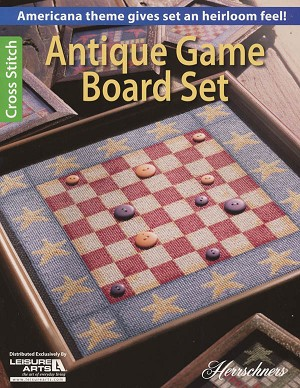 Antique Game Board Set - (Cross Stitch)