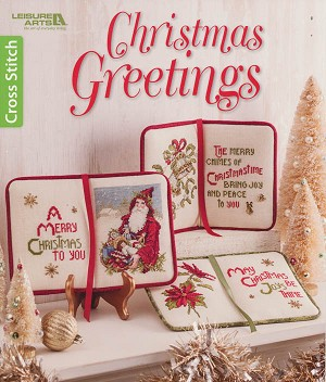 Christmas Greetings - (Cross Stitch)