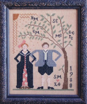 Wed to Thee (a Family Tree) - (Cross Stitch)