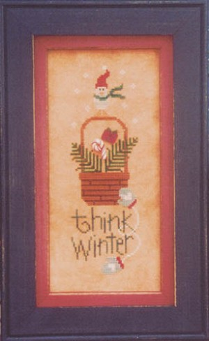 Think Winter - (Cross Stitch)