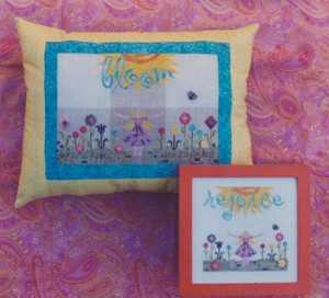Bloom & Rejoice - (Cross Stitch)
