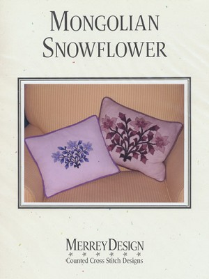 Mongolian Snowflower - (Cross Stitch)