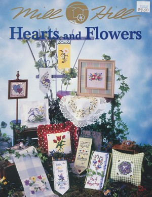 Hearts and Flowers - (Cross Stitch)