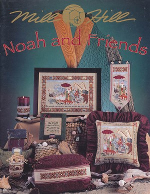 Noah and Friends - (Cross Stitch)