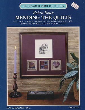 Mending the Quilts - (Cross Stitch)