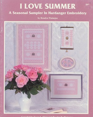 I Love Summer Hardanger - (Cross Stitch)